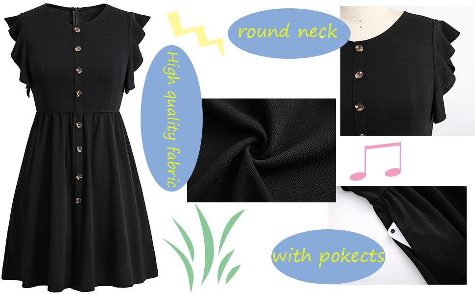 Women's Summer Plus Size dress