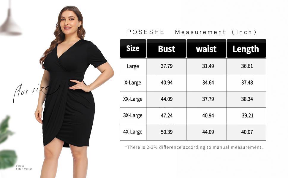 plus size sexy dress