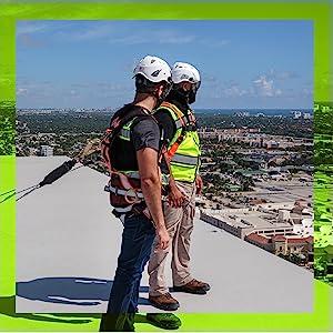 PERSONAL FALL PROTECTION EQUIPMENT OSHA ANSI CONSTRUCTION