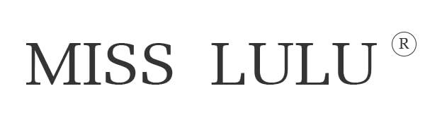 Miss Lulu Ladies Black Tote Bags