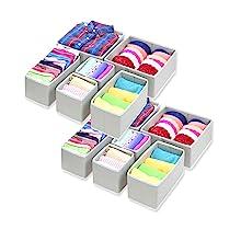 12 pack drawer Storage bin