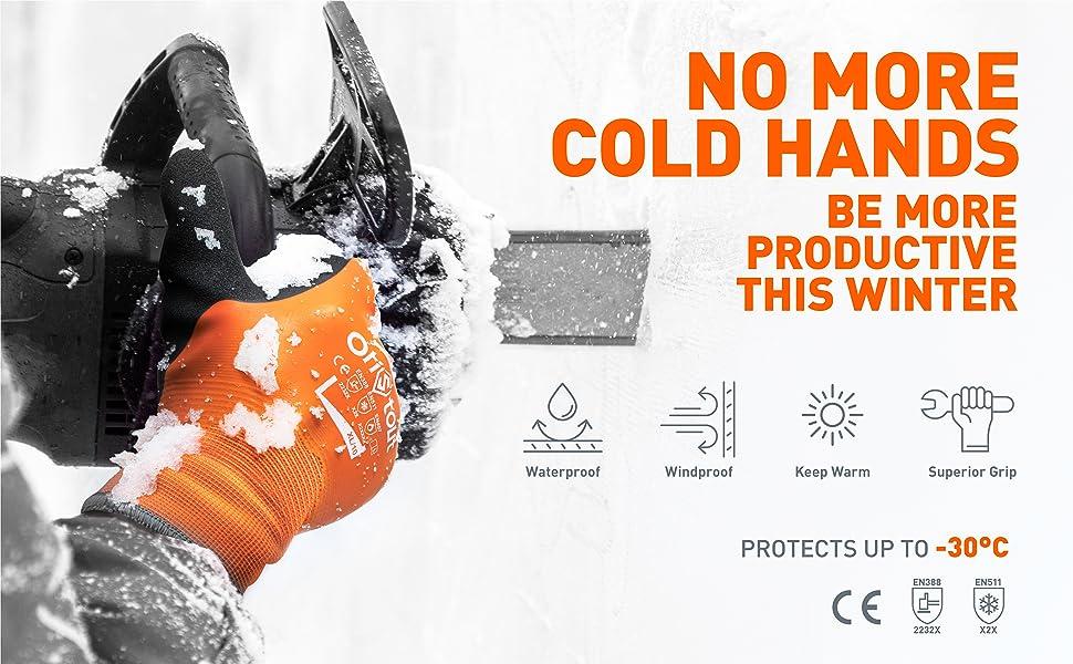 winter work gloves