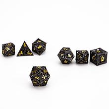 Metal hollow dragon dice