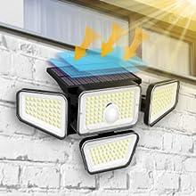 outdoor motion sensor light solar powered