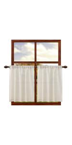 burlap curtain 36 inch