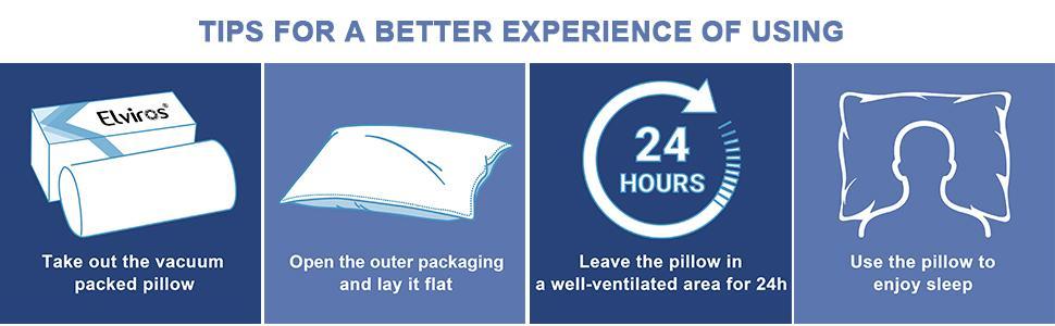 pillow package open