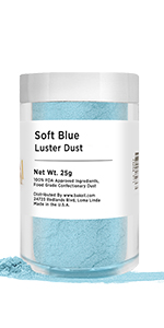 Soft Blue Luster Dust Bakell