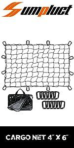 Cargo Net 4'x6'