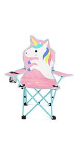 Unicorn Camp Chair