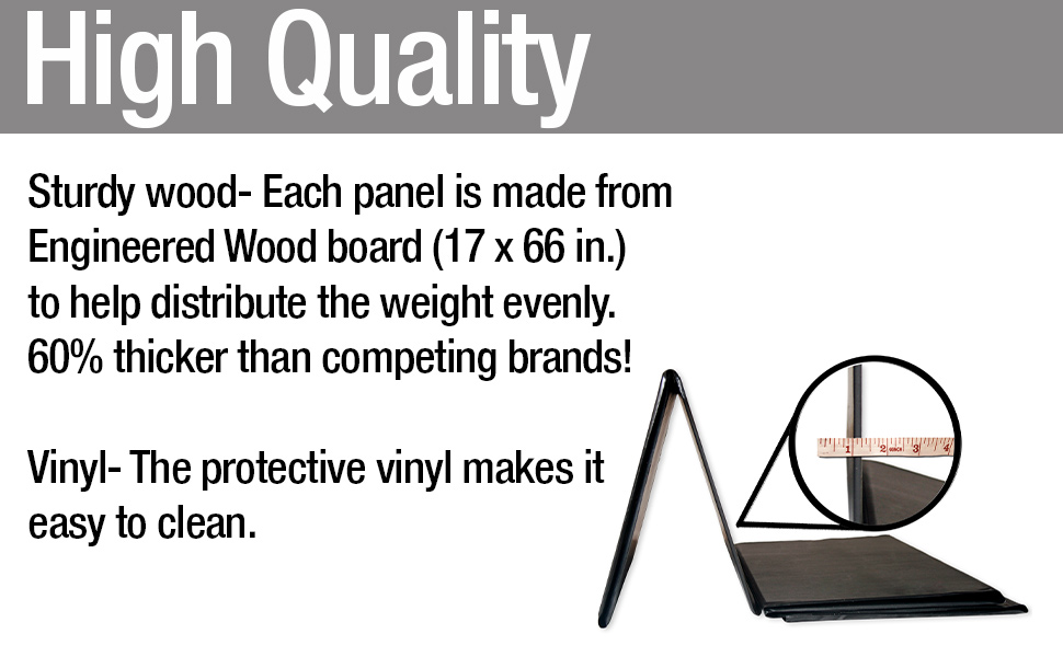 High quality made from engineered wood board