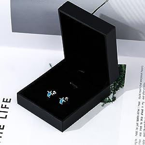 dainty cute Opal stud earrings for women kids girls turtle cat moon start earrings gifts for women