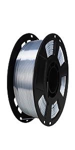 metal silk silver 1.75mm pla filament