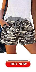 Camo Casual Shorts