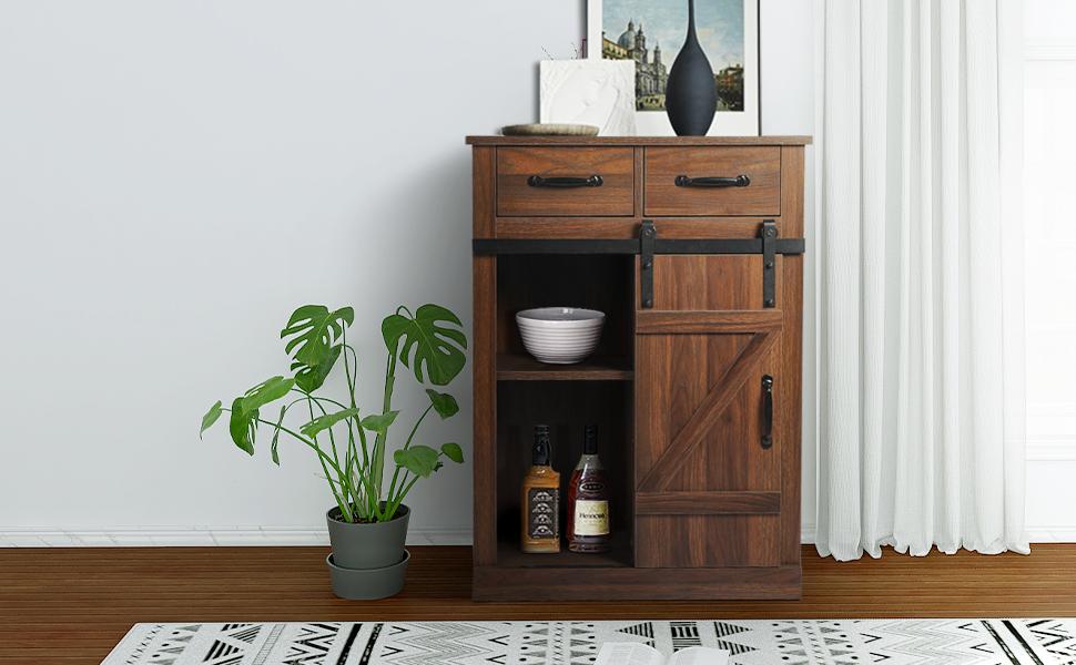 AILEEKISS modern storage cabinet
