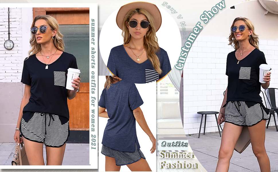 2 piece outfits for women summer