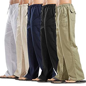 mens linen pants