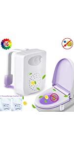 toilet lights motion detection 2 pack