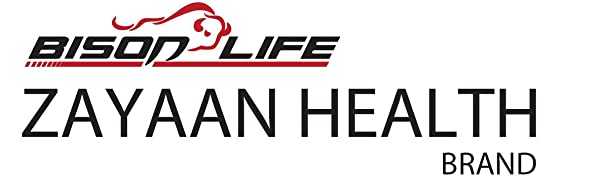 Zayaan Health Bison Life Brand Logo with the bison bull icon.