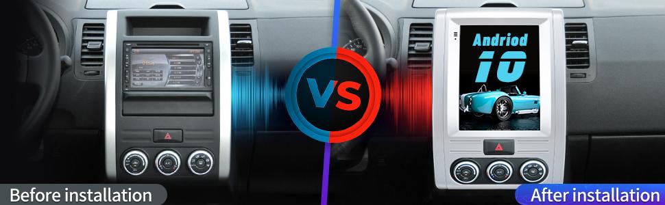 Nissan X-Trail stereo