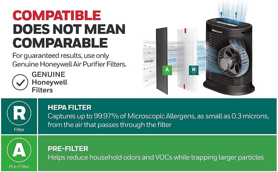 compatible hepa filter