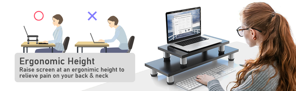 AEMS03 Monitor Stand