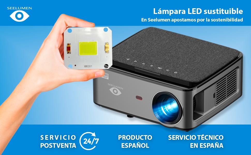 proyector wimius, proyector yaber, proyector 4k, proyector 1080p nativo, proyector para ps5