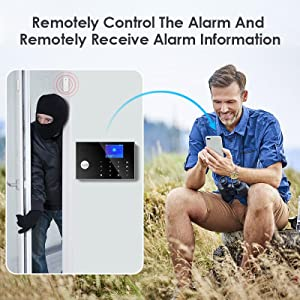 home alarm security system gsm wireless gsm 4g