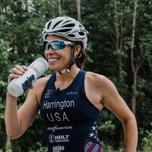 athlete cyclist hydration recovery energy bcaa amino acid drink powder stick packs