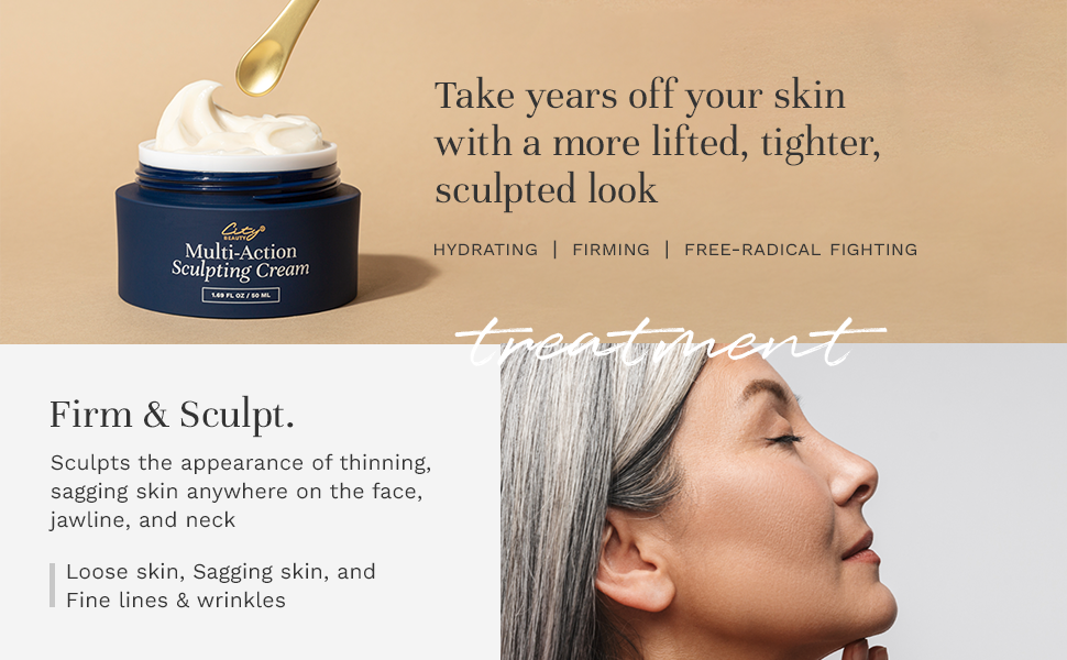 take years off your skin with more lifted, tighter, sculpted look