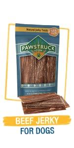 Dog Beef Jerky Treats - Natural Jerky Chews for Puppies - USA Company - Like Chicken Jerky