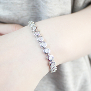 Tennis Bracelet Length: 7.5 Inches or 6.9 Inches