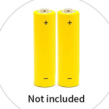 Note that batteries are not included when the product is purchased