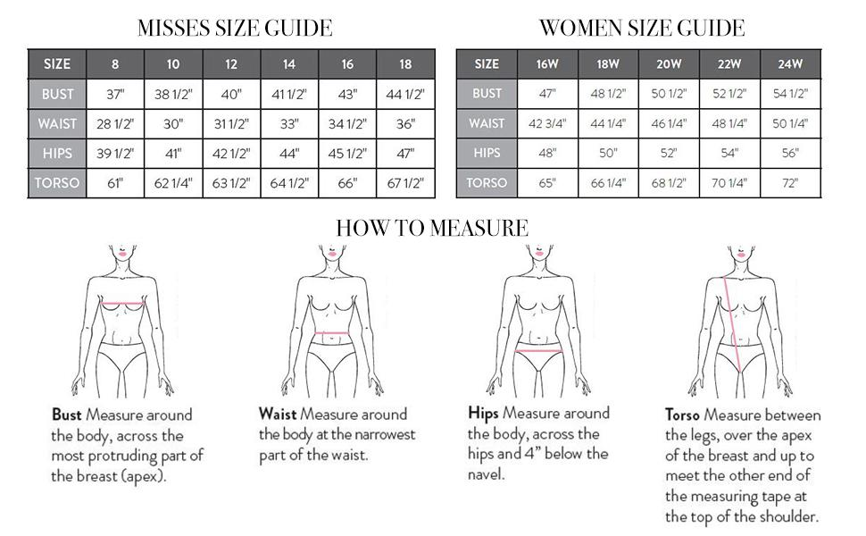 Size Guide and How to measure