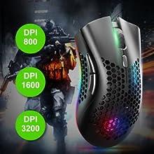 DPI adjustable mouse