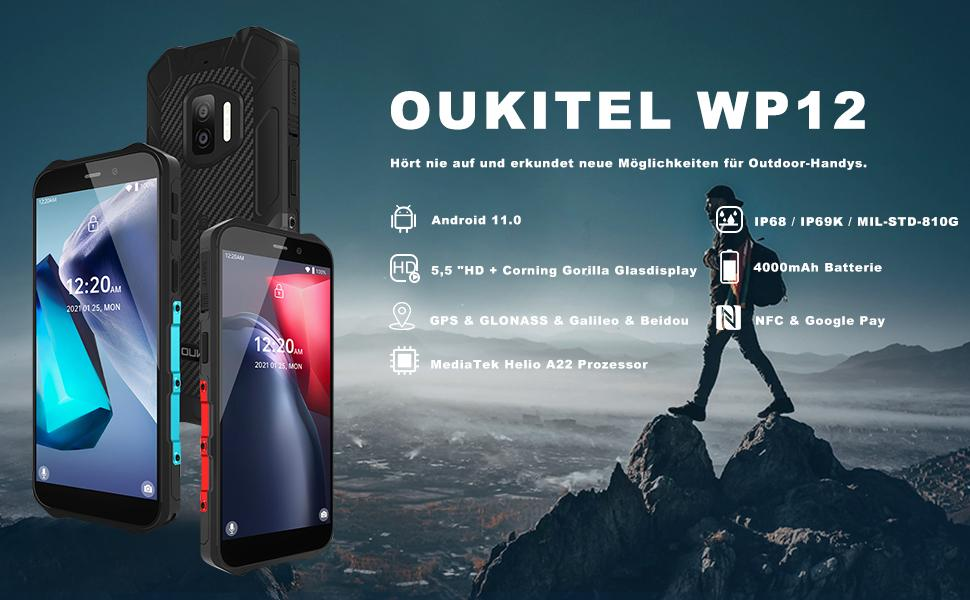WP12 Outdoor Handy ohne Vertrag
