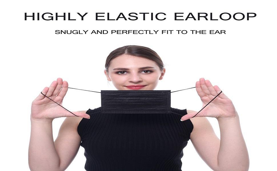 highly elastic earloop
