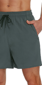 SILKWORLD Men's 5quot; Swim Shorts