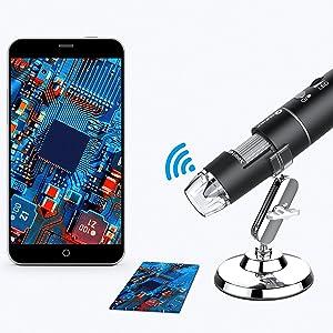 T Takmly wireless digital microscope usb camera support IOS IPHONE 6 7 8 910 x sx 12 13