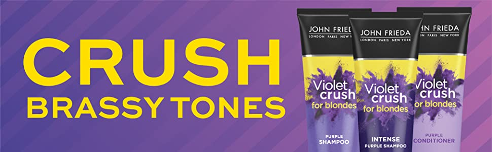 Violet Crush Trio Banner Intense Shampoo Conditioner Crush Brassy Tones
