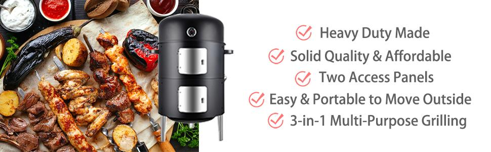 Realcook Smoker Features