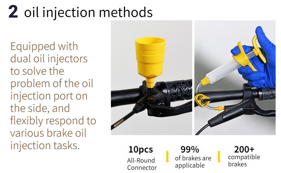 dual oil injectors