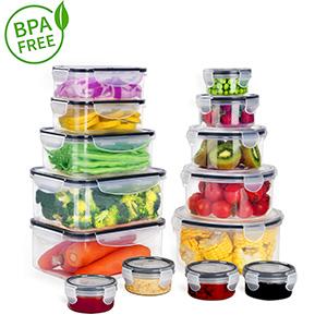 BPA Free Boîte de Conservation Alimentaire