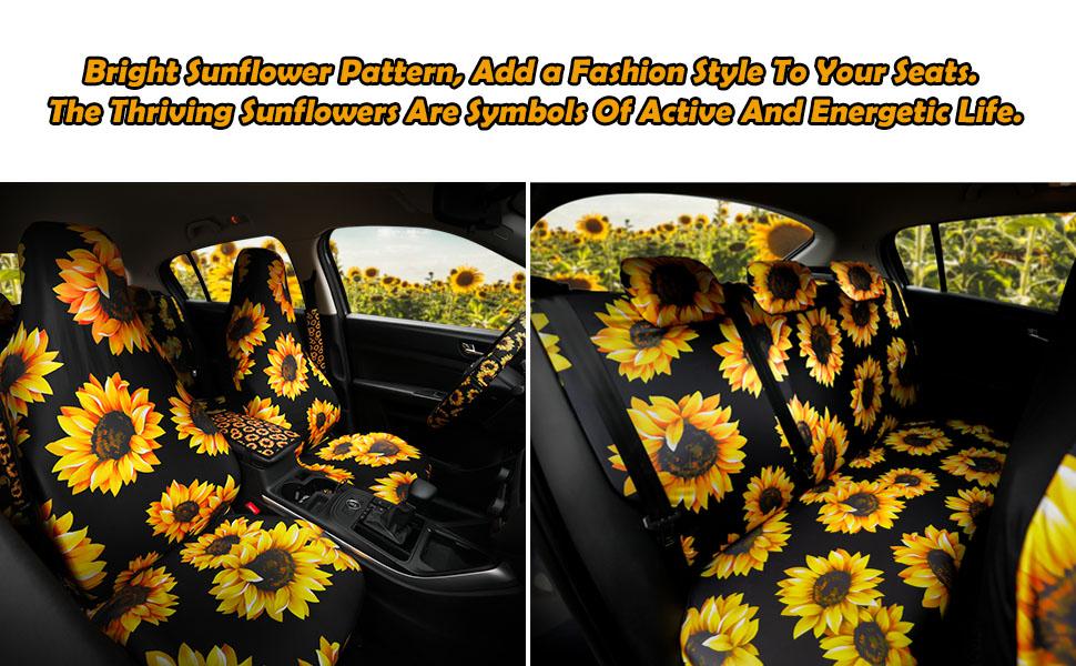 sunflower car freshener
