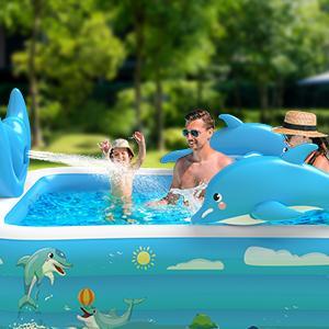 Kiddie Pool with Splash