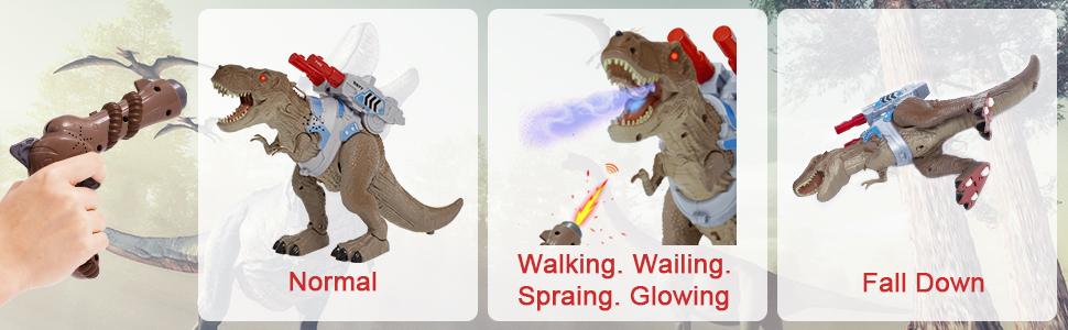 Remote Control Dinosaur Pistol Toys