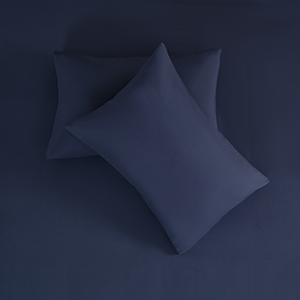 蓝枕头俯视