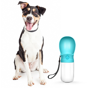dog water bottle portable dog travel walking dogs on the go drinking pet supplies leakproof dog