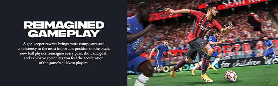 FIFA 22 Reimagined Gameplay Banner Image 2