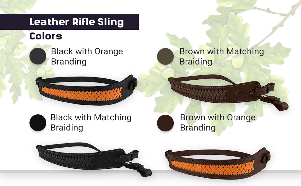 rifle sling canvas belt hunting accessories handmade shotgun strap comfort shoulder slip leather