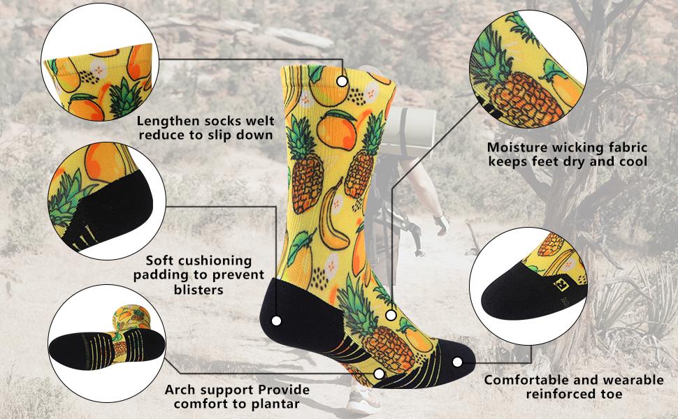 funky novelty socks